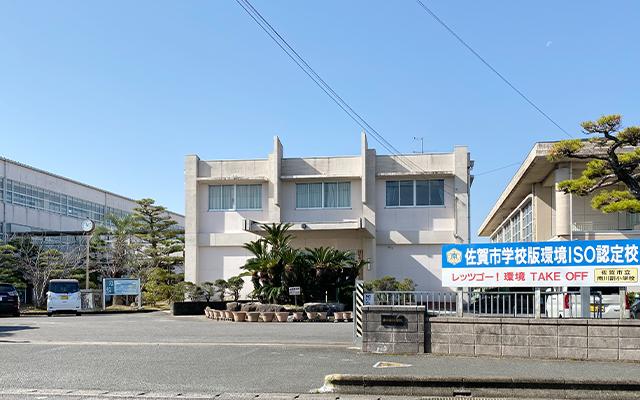 南川副小学校