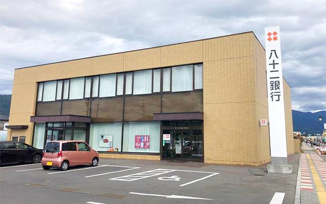 八十二銀行三好町支店